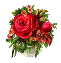 Roses in Vase - Roses dans un vase-Rosen in Vase http://4.bp.blogspot.com/-u-ptyUpPGhw/UDmd-LuShdI/AAAAAAAAC7g/zLm4dqlca8U/s1600/rosebouquet.jpg