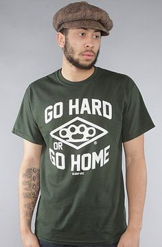 10Deep The Go Hard Vintage Tee in 10Deep X Crooks n Castles X The Hundreds X Stussy  Available at karmaloop.com