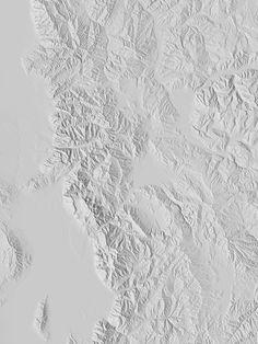 Dan Holdsworth. Salt Lake City, Plan View, 2012. C-type print.