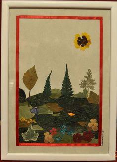 cuadros realizado con flores secas - Buscar con Google Dried Flower Arrangements, Dried Flowers, Collage, Painting, Google, Flower Preservation, Leaves, Press Flowers, Architectural Plants