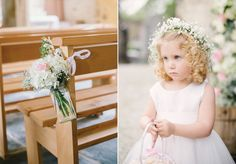 Romance by the Sea - A Blush and White Springtime Wedding in France. Photography by Hannah Duffy.