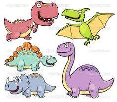 Resultado de imagen para dibujos dinosaurios