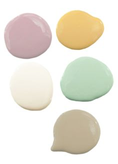 Pastel color scheme inspired by salt water taffy! Get decorating tips using these colors.