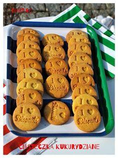 ciasteczka bezglutenowe, ciasteczka kukurydziane, kruche ciasteczka kukurydziane Biscuits, Food And Drink, Gluten Free, Cooking Recipes, Easter, Vegan, Cookies, Sweet, Carving