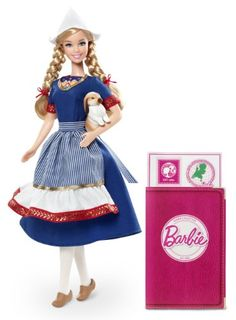 Barbie Collector Dolls Of The World Holland Doll: Barbie doll is loved around the world and the Dolls of the World collection returns the love with Barbie dressed in aspirational versions of ancestra...