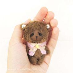 27конфет - маленькие авторские медведи Юли Овцыной и их друзья