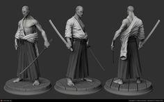Samurai by Fabricio Moraes   3D   CGSociety