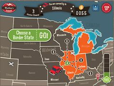 Geography Drive USA (The best road trip app for older kids)
