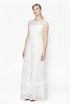 Coachella Embroidered Maxi Dress