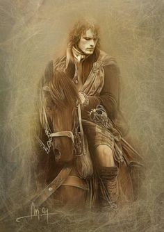 Love Jamie on a horse