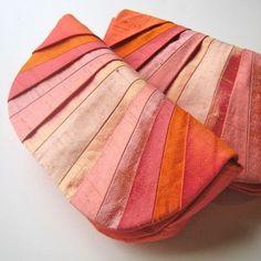 By Indie fashion designer Jes Switaj. I love the rays of silk very 1920's esque!
