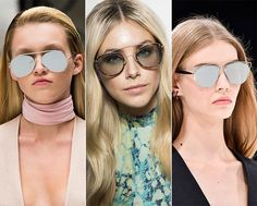 Spring/ Summer 2015 Eyewear Trends: Aviator Sunglasses  #sunglasses #eyewear #eyeweartrends