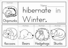 My Itsy Bitsy Bear Book | prek | Pinterest | Bears, Hibernating ...