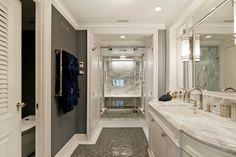 Bathroom .. Fifth Avenue penthouse .. Manhattan, New York