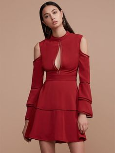 Keepsake The Label 'Heart Beat Dress Red' Dresses |Shop Splash www.shopsplash.com