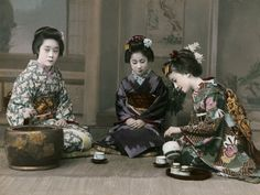 """""""When people of other classes became interested in the tea ceremony enjoyed by the Samurai class, they started having small tea gatherings in smaller and less lavish rooms which were appropriate to their status. From this the small room called Kakoi came into existence( Japanese Tea Ceremony)."""" www.japanese-tea-ceremony.net"""
