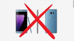 There is a new update for the Samsung Note 7 that will prevent the phone from charging.