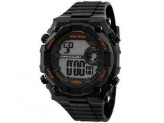 Relógio Masculino Mormaii MO11538/8L - Digital Resistente à Água Cronógrafo Calendário com as melhores condições você encontra no Magazine Rioleal. Confira!