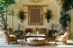 Mediterranean Style Interior Design and DIY Decorating Ideas - Paint + Pattern