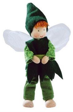 Kathe Kruse Posable Fairy Family - Dad - Everything Fairies