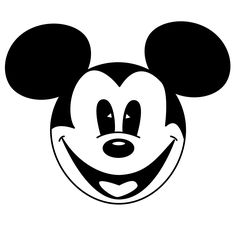 Mickey And Minnie Mouse Head Clip Art - Clipart library Walt Disney Mickey Mouse, Mickey Mouse Head, Mickey Y Minnie, Mickey Mouse And Friends, Mickey Mouse Template, Mickey Mouse Clipart, Mickey Mouse Coloring Pages, Mickey Mouse Images, Minnie Mouse Drawing
