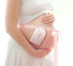 Cute picture baby bump