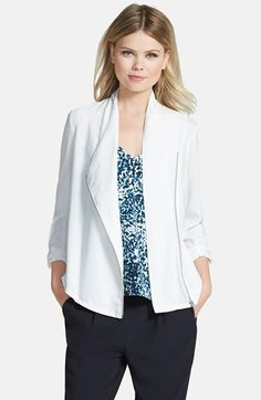 Trouvé+Draped+Moto+Jacket+available+at+#Nordstrom