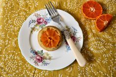 Floral Frosting: Mini Clementine Upside-down Cakes
