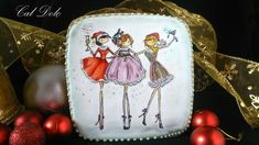 Christmas Girls    By Marta Sancho   https://www.facebook.com/pages...49?ref_type=bookmark
