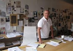 ian shrager's studio space.  there is collaboration in collecting.