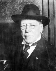 Samuel Gompers, the founder and longtime head of the American Federation of Labor.