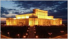 The Palace of the Parliament (Romanian: Palatul Parlamentului) in Bucharest, Romania is a multi-purpose building containing both chambers of the Romanian Parliament. According to the World Records ...