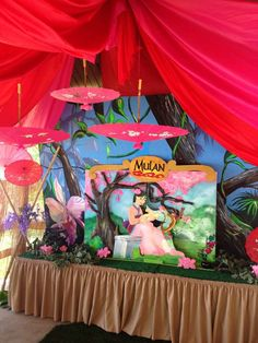 Aliyah's Princess Mulan Party  | CatchMyParty.com