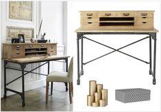 Blog de diseño deco lugar bastante Deco Design, Office Desk, House, Furniture, Decoration, Home Decor, Blog, Vintage Style, Interior Design