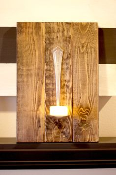 scrap wood and spoon sconces 6