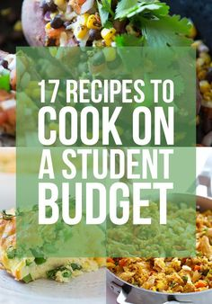 17 Recipes To Cook On A Student Budget