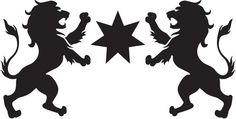 All information about Lion Rampant Design. Pictures of Lion Rampant Design and many more. Silhouette Lion, Silhouette Tattoos, Leo Tattoos, Zodiac Tattoos, Leo Constellation Tattoo, Glass Engraving, Engraving Ideas, Lion Images, Lion Design