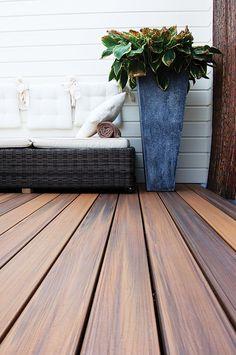 Houtcomposiet: een duurzaam alternatief voor je houten terras #fiberon #horizon #ipe