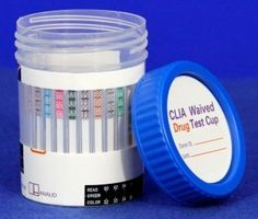Rapid Detect 10 Panel CLIA Waived Drug Test Cup