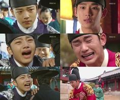 Yeo Jin Goo and Kim Soo Hyun - both are talented actors. ♥ The Moon that Embraces the Sun