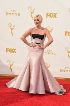 Jane Krakowski in Bibhu Mohapatra at the 2015 Emmys. See what all the stars wore to the ceremony.