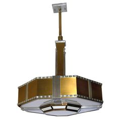 Fantastic Very Large Art Deco Theater Chandelier