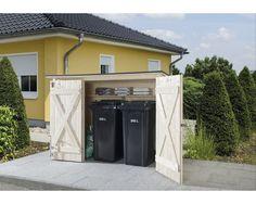 Abri de rangement en bois toit incliné 3.71m² -… | Chalets