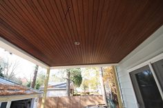 Beadboard Porch Ceiling Fans without Light — Home Ceiling Inspirations Porch Ceiling, Outdoor Ceiling Lights, Outdoor Wall Lamps, Home Ceiling, Ceiling Decor, Ceiling Design, Ceiling Ideas, Front Porch Remodel, Ceiling Fans Without Lights