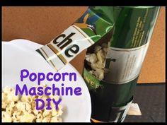 Popcorn Maschine selber machen - DIY - How to make a Popcorn Machine - YouTube