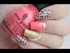 Neon/Nude Leopard Nails: ChG Petal to the Metal and Don't Honk Your Thorn w/ Blonde Bombshell accent Great Nails, Fabulous Nails, Love Nails, My Nails, Crazy Nail Art, Cool Nail Art, Leopard Nails, Nails Only, Fancy Nails