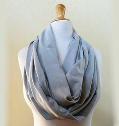 Nomad Infinity loop cowl / scarf  PEARL by OriginalDesignsByAR, $18.00