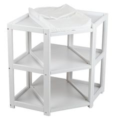 "Badger Basket Diaper Corner™ Baby Changing Table - White -  Badger Basket Company - Toys""R""Us"