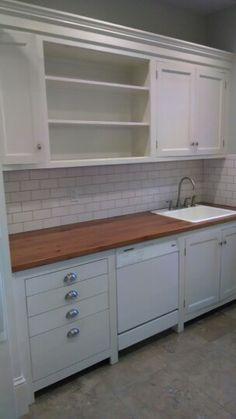 ikea pragel wood countertop remodel pinterest wood countertops woods and countertops. Black Bedroom Furniture Sets. Home Design Ideas