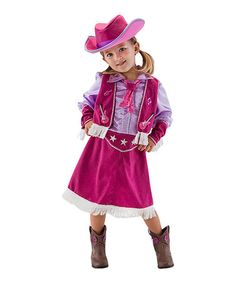 Look what I found on #zulily! Cowgirl Dress-Up Set - Toddler & Kids by Princess Factory #zulilyfinds